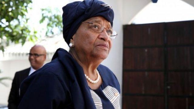 Liberian President Ellen Johnson Sirleaf