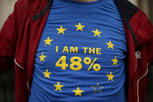 Contrario al Brexit.