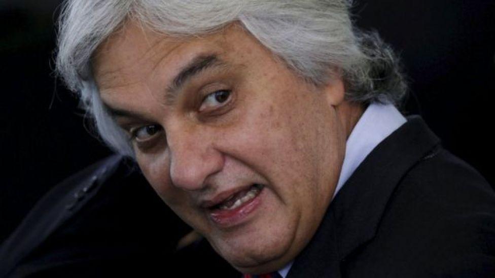 Senator Delcidio Amaral, Sep 2015