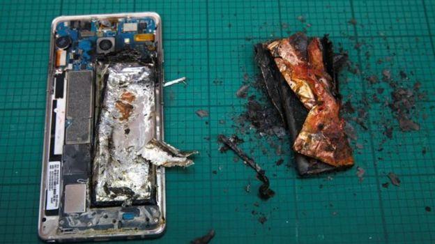 Samsung le pidió a los usuarios que apaguen los teléfonos.