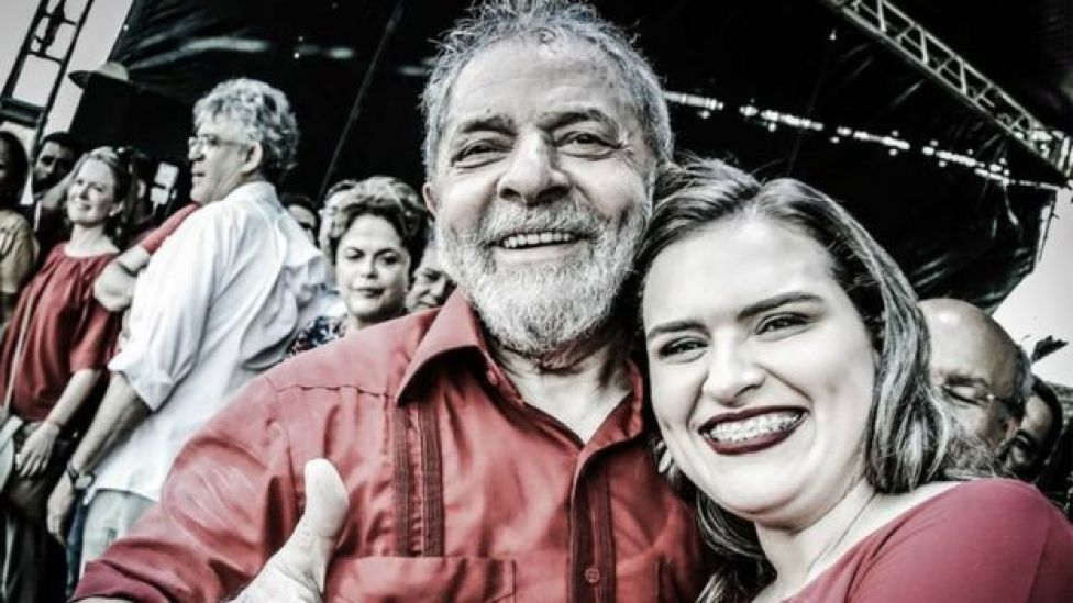 Marília Arraes, vereadora do Recife, e ex-presidente Lula