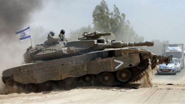تانکهای مرکاوای اسرائیلی، به سیستم دفاع فعال مجهز هستند