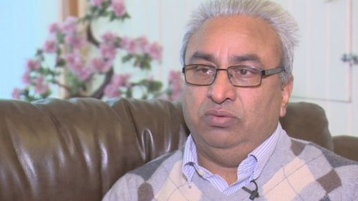 """Jagtar's father Jasbir said the news of his son's arrest was """"really shocking""""."""
