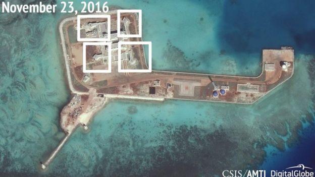 Trung Quốc xây dựng ở Biển Đông