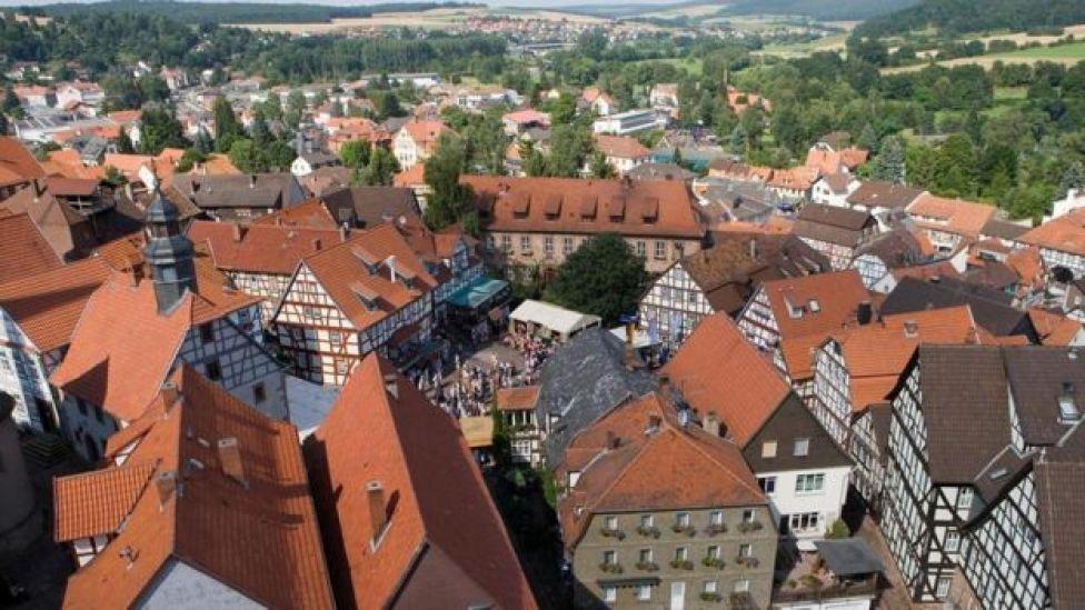 La ciudad de Schlitz, en Alemania