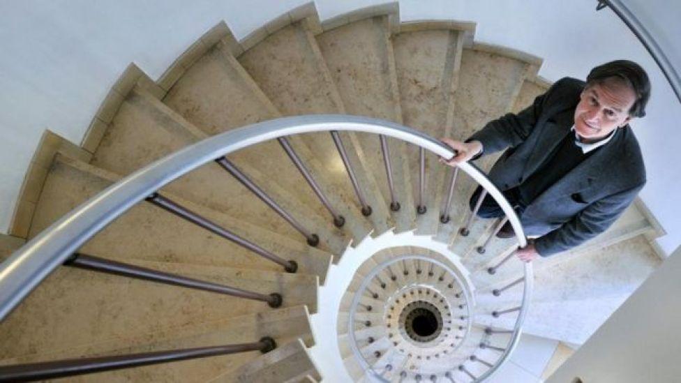 El físico y matemático Roger Penrose