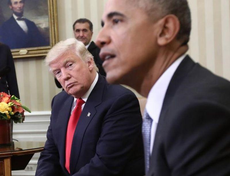 Trump və Obama