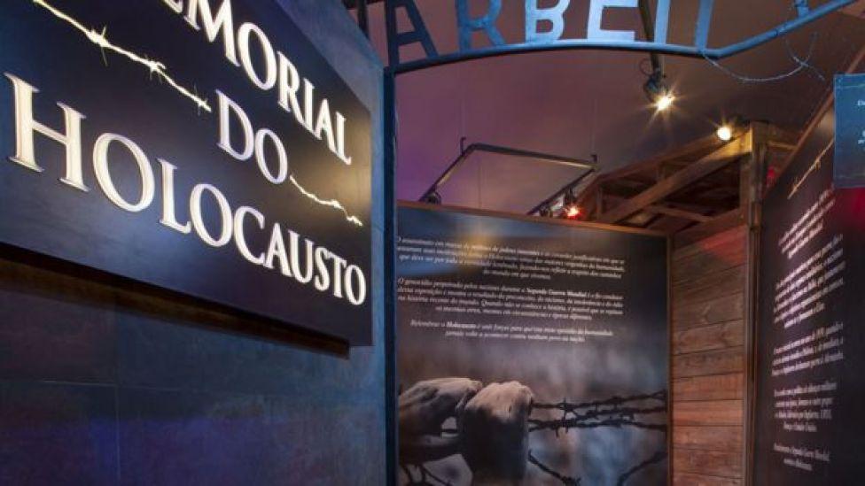 Memorial del Holocausto en Sao Paulo