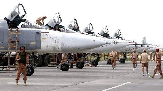 پایگاه حمیمیم به طور انحصاری در اختیار هواپیماها و پرسنل نظامی روسیه قرار دارد