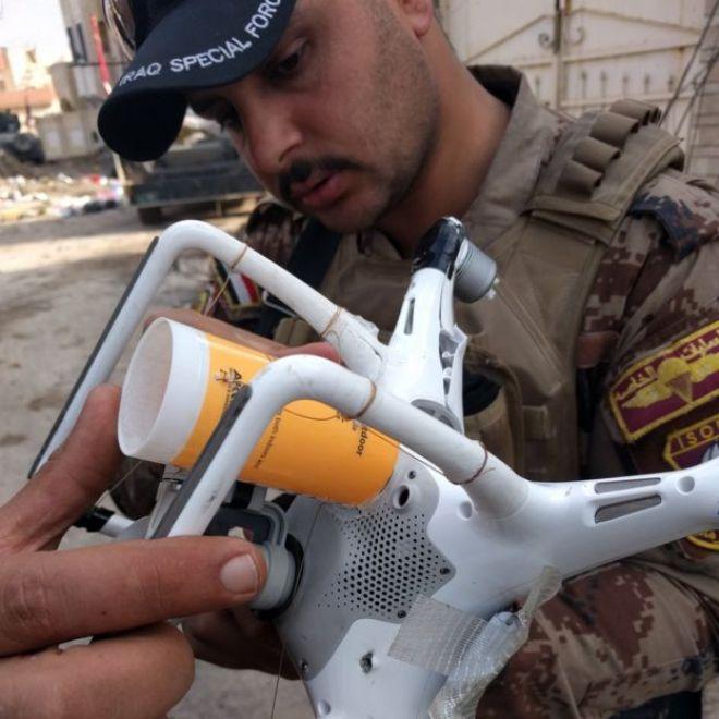 A modified drone