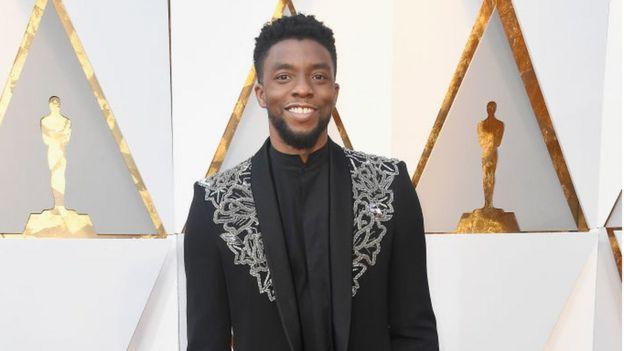 Actor Chadwick Boseman