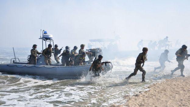 Висадка морської піхоти