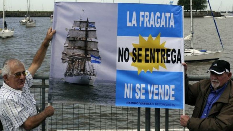 Fragata argentina