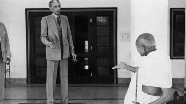 মহাত্মা গান্ধীর সঙ্গে মুহাম্মদ আলী জিন্নাহ