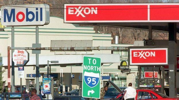 Exxon y Mobil