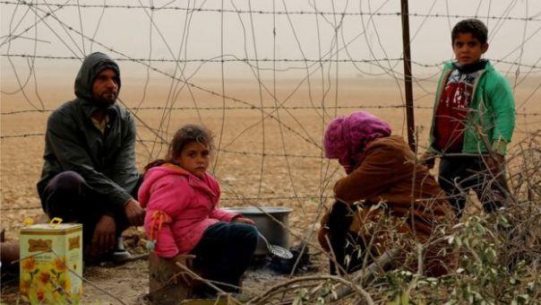 Refugiados sirias