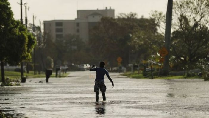 El huracán Irma causó numerosas inundaciones durante este fin de semana en Florida, el tercer estado más poblado de Estados Unidos.