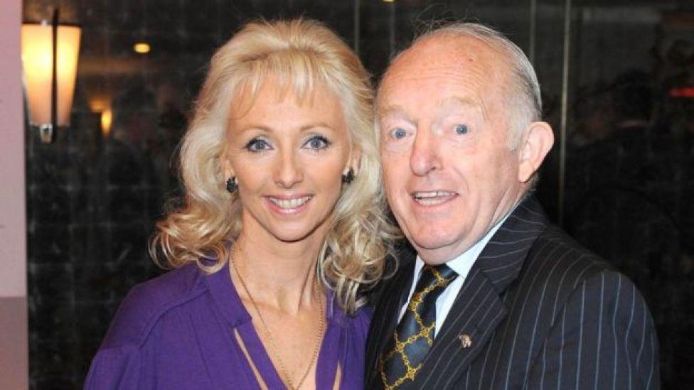 Paul Daniels with Debbie McGee