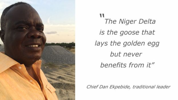 Quote from Chief Dan Ekpebide: