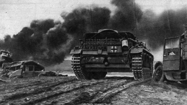 The Sturmovik was instrumental in pushing back German forces on the Eastern Front (Credit: Getty Images)