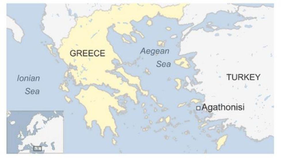 Qariiradda badda u dhaxeysa Turkiga iyo Greek-gga