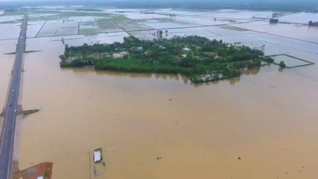 lũ lụt miền Trung Việt Nam