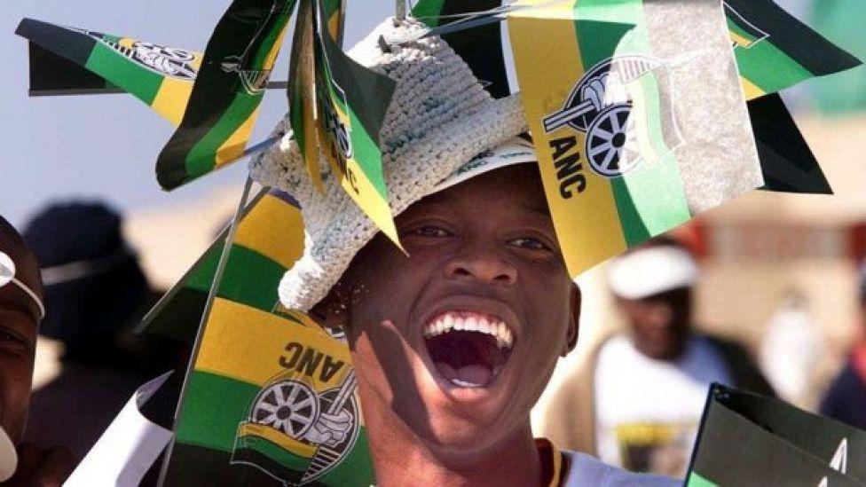 Qof ka mid ah taageerayaasha ANC