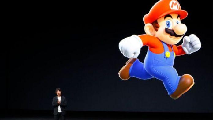 Super Mario Bros en la presentación del iPhone 7.