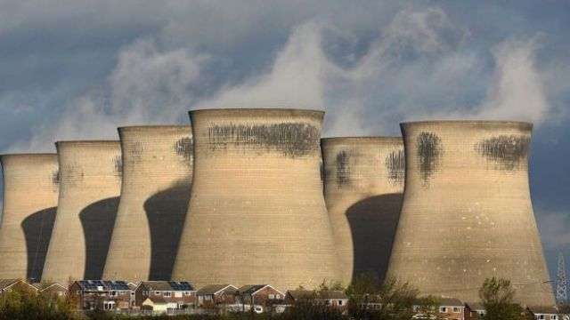 Ferrybridge coal-fired power station in West Yorkshire, now closed