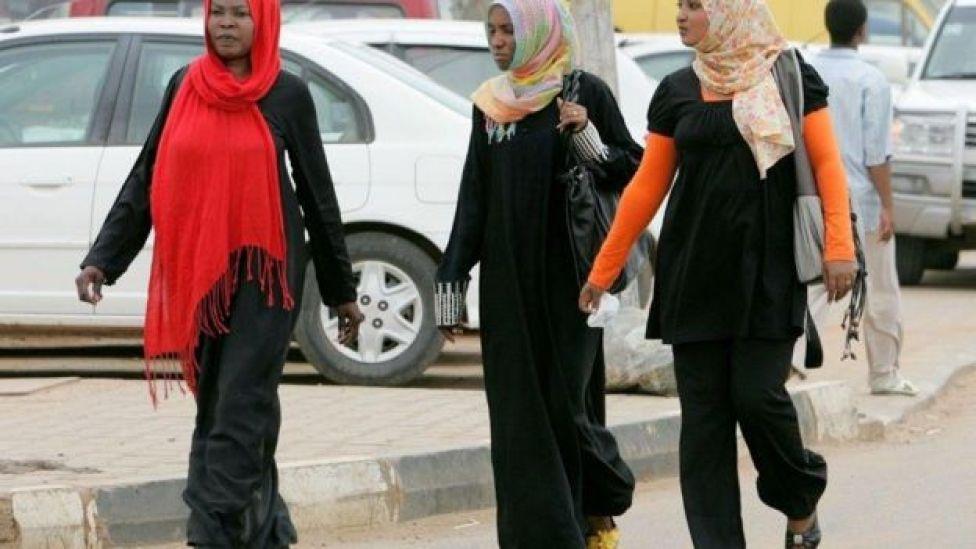 Sudanese women in Khartoum
