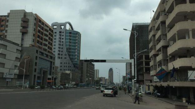 Les rues de Kinshasa sont désertes au lendemain de l'expiration du mandat du président Kabila.