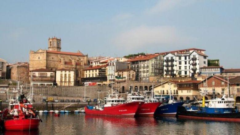 Getaria, no País Basco, Espanha