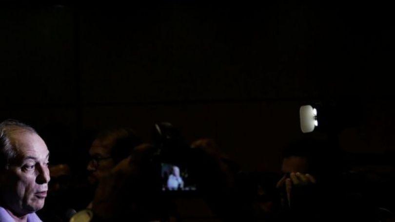 O pré-candidato do PDT Ciro Gomes