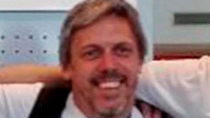 Diego Mendoza, otro arquitecto del grupo de viajeros.