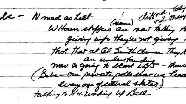 Haldeman đã ghi lại lời của Nixon trên tư liệu mới phát hiện