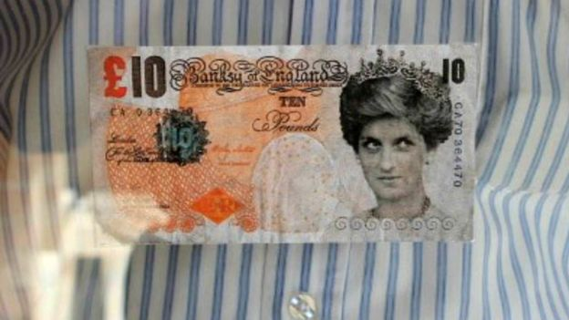 Banksy £10 note