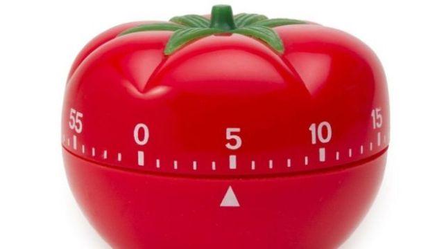 relógio de tomate