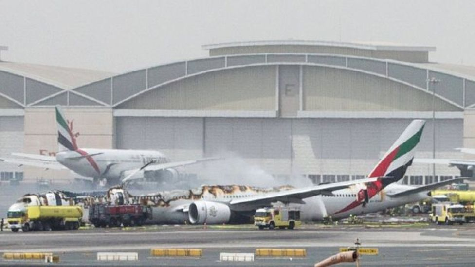 Boeing 777-300 da Emirates Airlines
