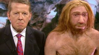 Image result for clinton trump neanderthal