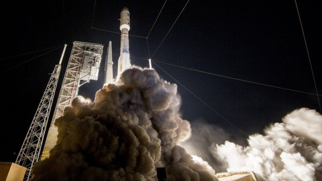 GOES-R satellite launches