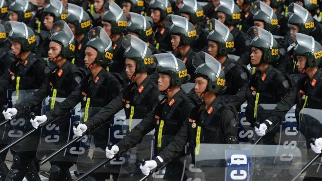 Vietnamese security force