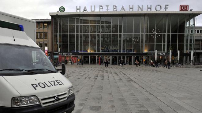 Cologne central station - file pic