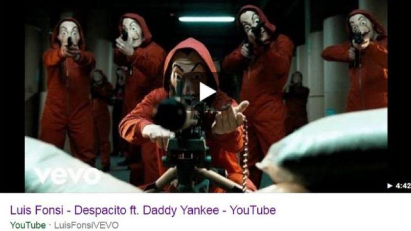 Hacked Despacito video