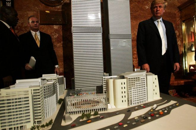 Ông Donald Trump là tỷ phú ngành địa ốc và khách sạn