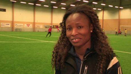 Nigeria star Perpetua Nkwocha