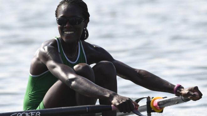 Rower Chierika Ukogu - 9 August 2016 in Rio, Brazil