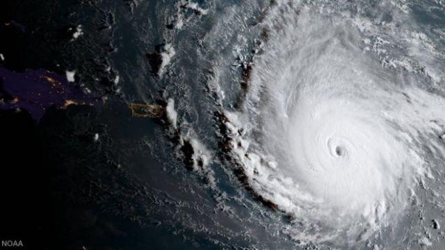 El huracán Irma en imagen satelital