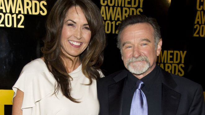 Robin and Susan Williams in 2012