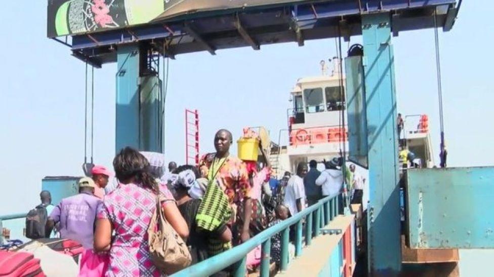 Boat in Banjul