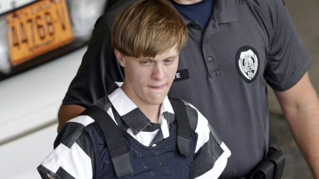 Dylann Roof under arrest